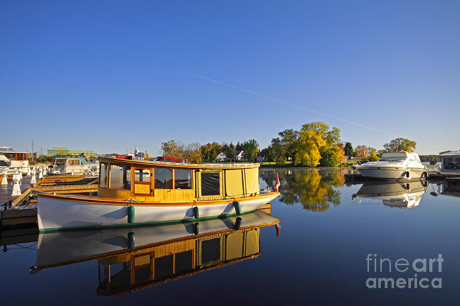 Morning Marina Photograph  - Morning Marina Fine Art Print