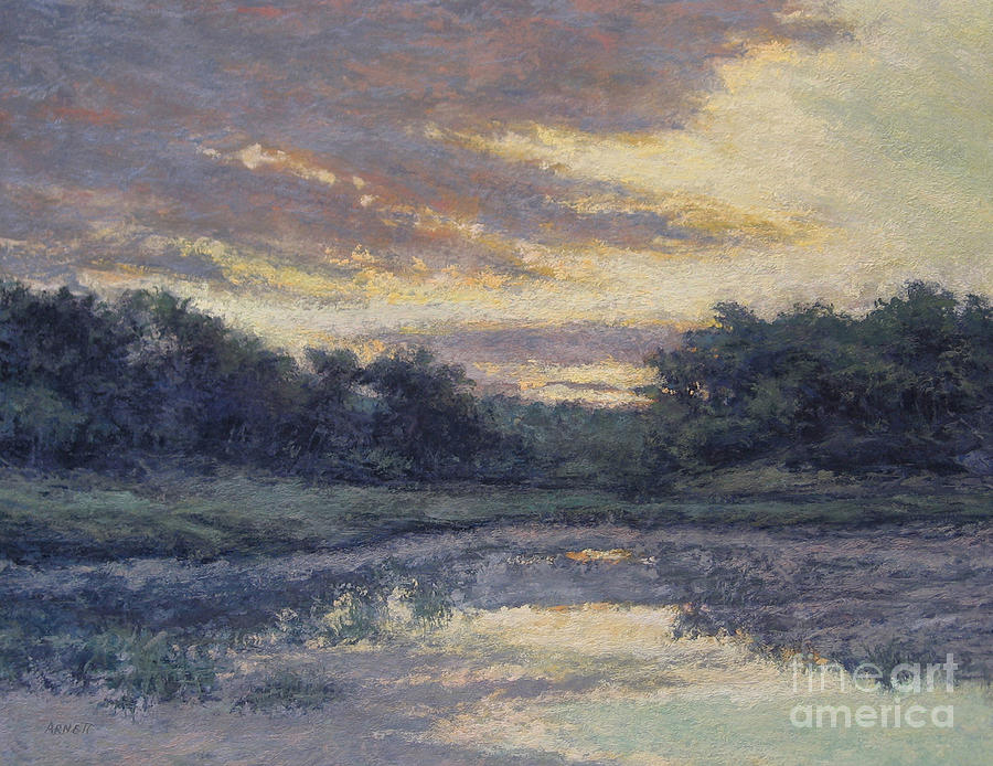 Morning On The Marsh / Wellfleet Painting  - Morning On The Marsh / Wellfleet Fine Art Print