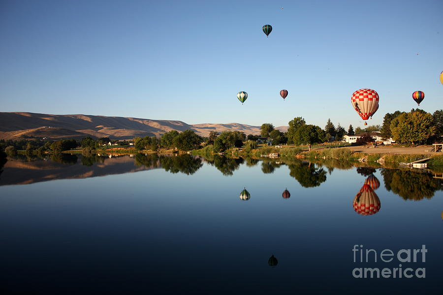 Morning On The Yakima River Photograph  - Morning On The Yakima River Fine Art Print