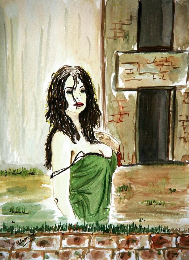 Nude Framed Prints Painting - Morning Passion by Shlomo Zangilevitch