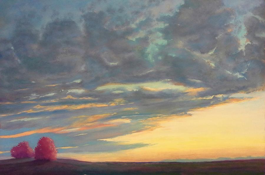 Morning Pastel - Morning Sky by Regina Calton Burchett