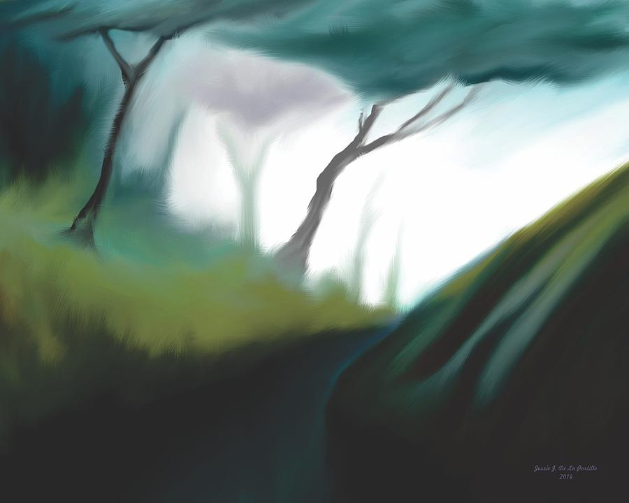 Morning Stream Painting