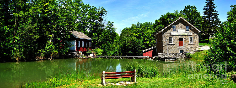 Morningstar Mill Photograph  - Morningstar Mill Fine Art Print