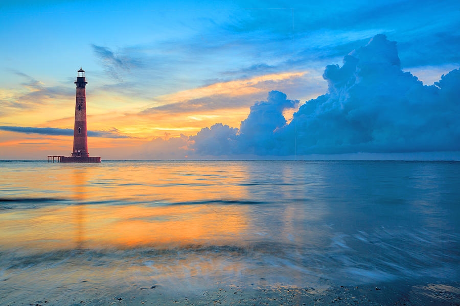 Morris Island Lighthouse Photograph By Keith Allen