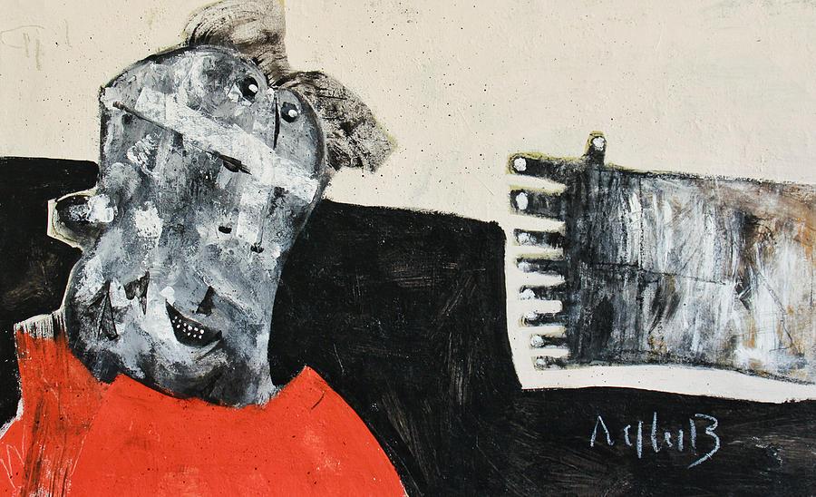 Acrylic Painting - Mortalis No 19 by Mark M  Mellon