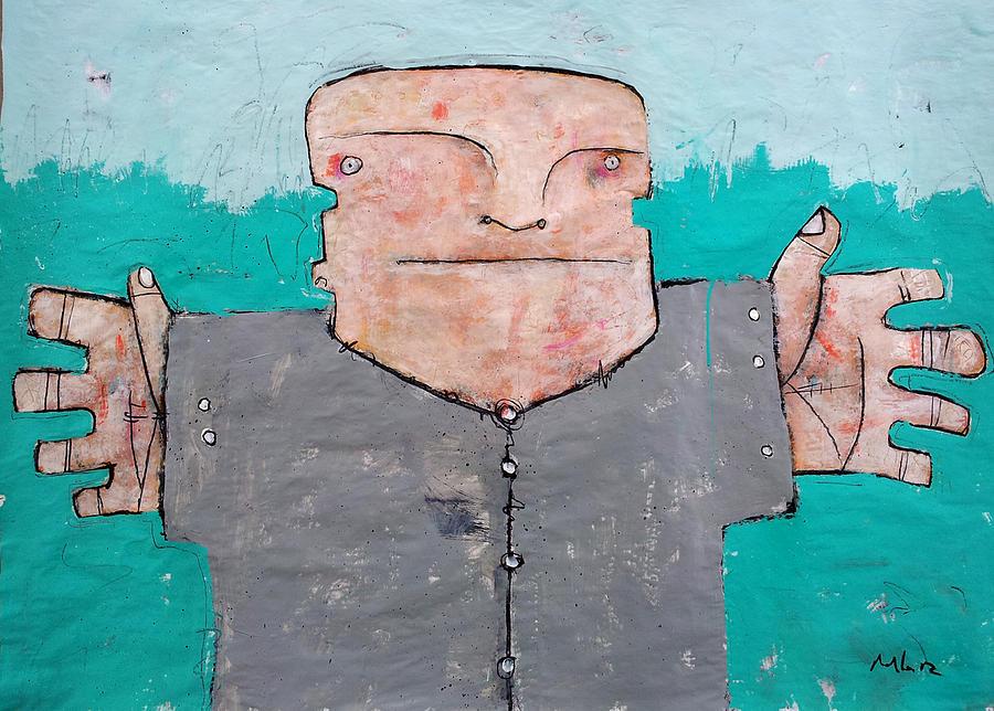 Figurative Painting - Mortalis_2 by Mark M  Mellon