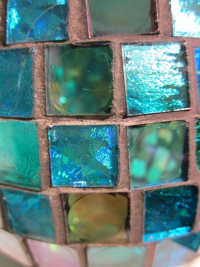Mosaic Turquoise Photograph By Rosita Larsson