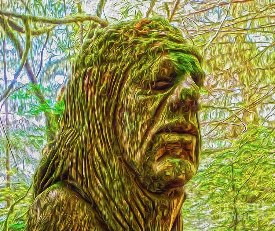 Moss Man - 02 Photograph