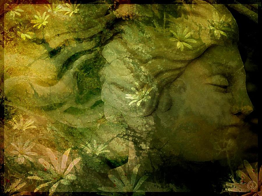 Mother Earth Is Just Awakening Digital Art  - Mother Earth Is Just Awakening Fine Art Print