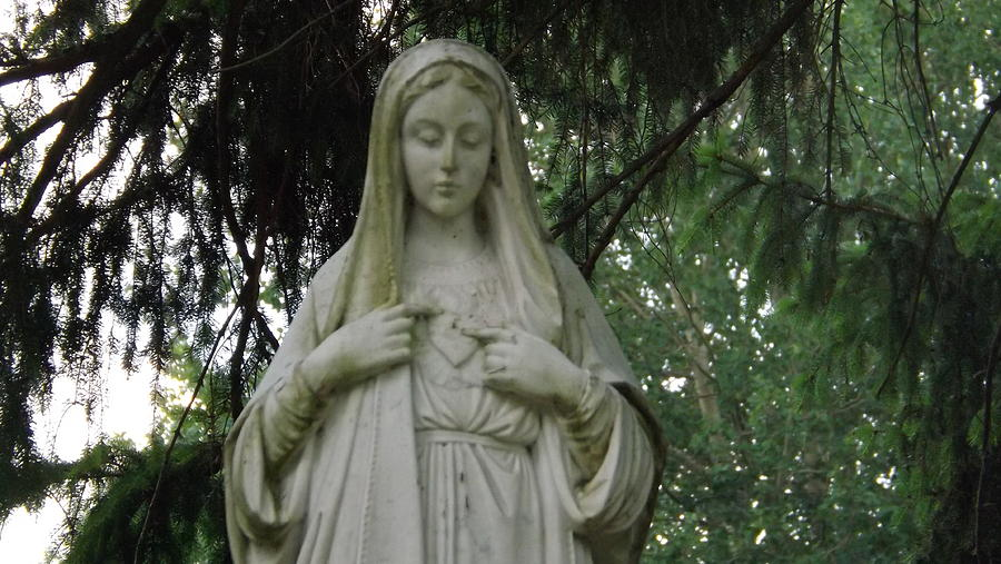 Mother Mary Photograph  - Mother Mary Fine Art Print