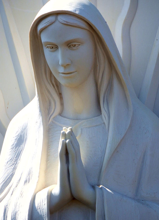 Mother Mary Statue Photograph  - Mother Mary Statue Fine Art Print