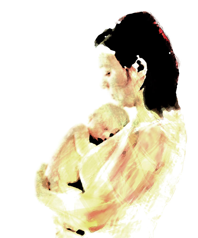 Motherhood Digital Art