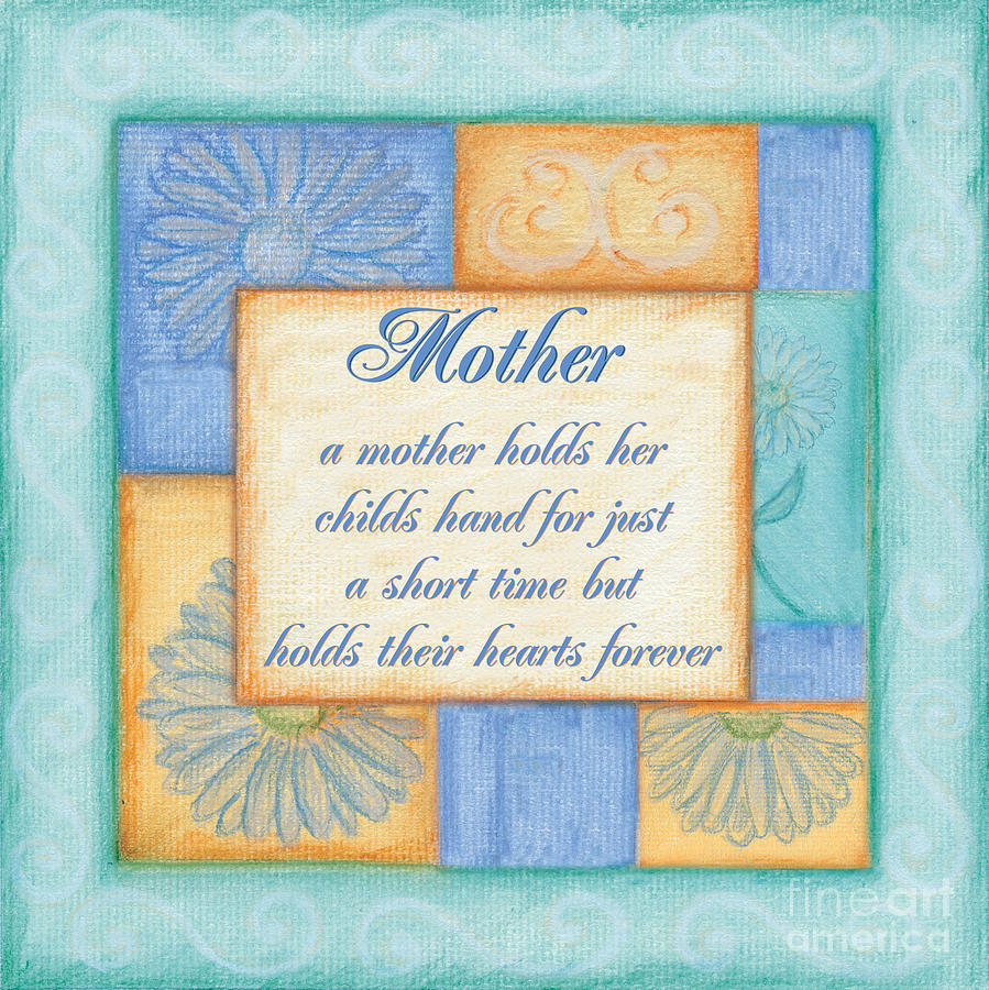 Mother Painting - Mothers Day Spa by Debbie DeWitt