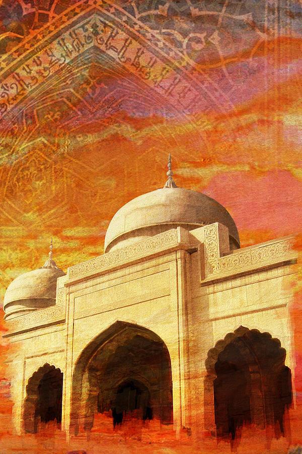Moti Masjid Painting
