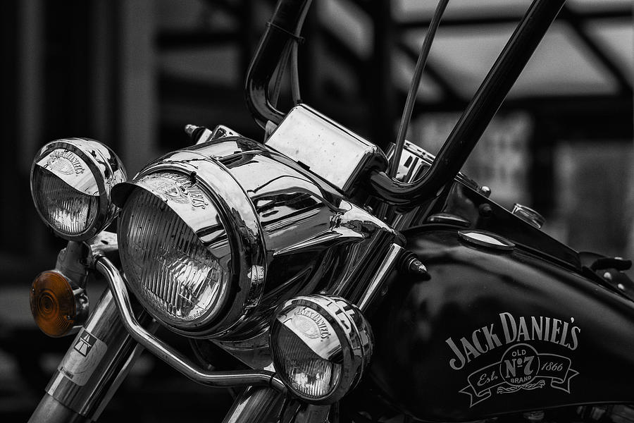 Motor Bike Headlight is a photograph by TouTouke A Y which was ...