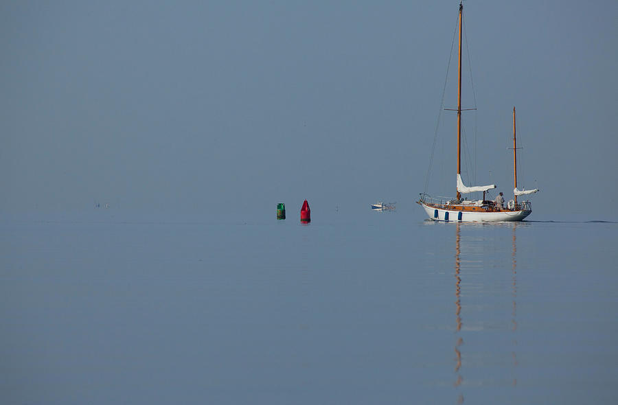 Motoring Sail Photograph