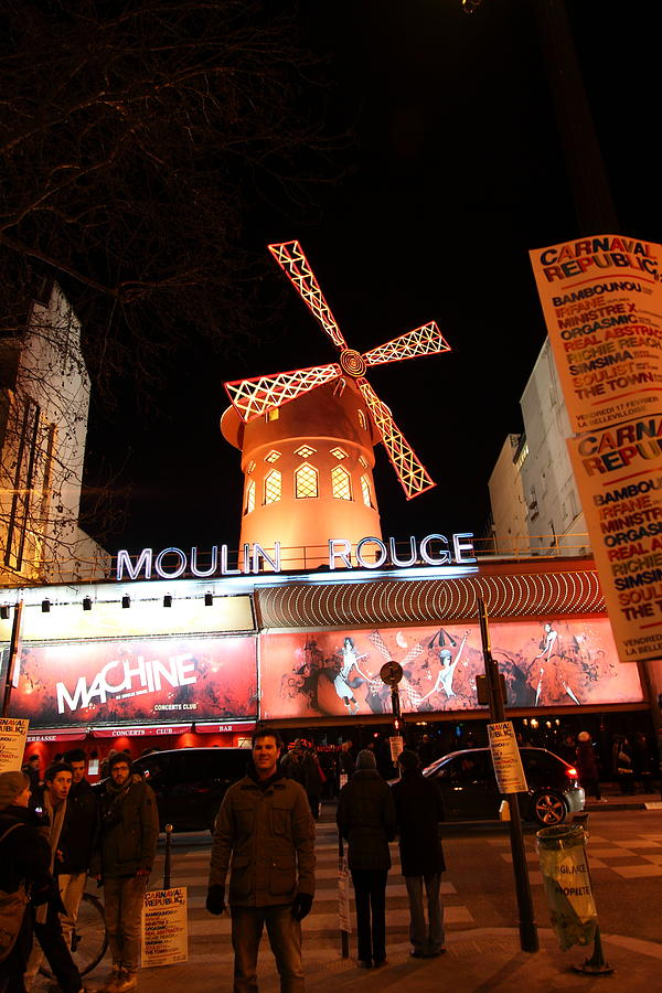 Moulin Rouge - Paris France - 01131 Photograph