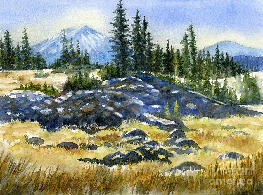 Mount Bachelor View Painting