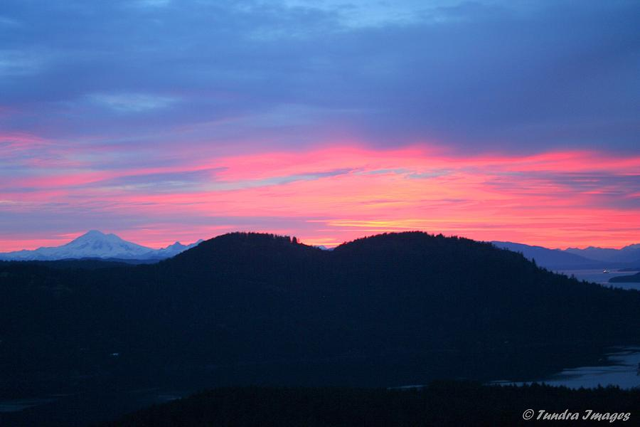Mount Baker Sunrise Photograph
