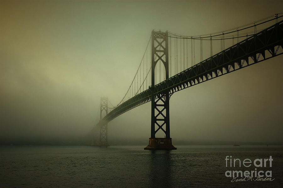 Mount Hope Bridge Photograph  - Mount Hope Bridge Fine Art Print