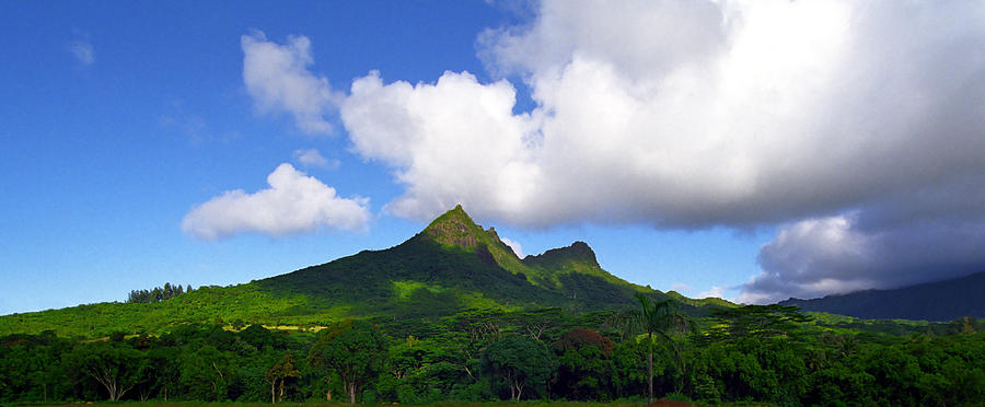 Mount Olomana Hawaii Photograph