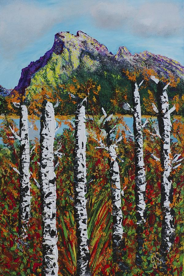 Mount Rundle Banff Alberta Painting