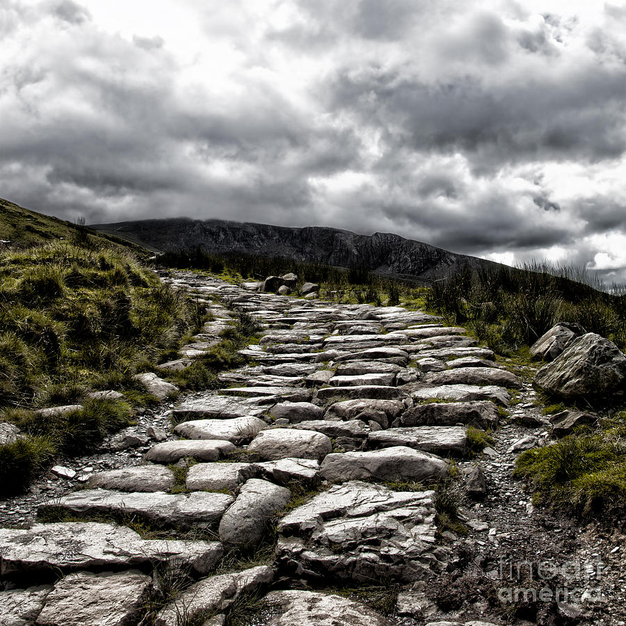 Mount Snowdon Path Photograph  - Mount Snowdon Path Fine Art Print