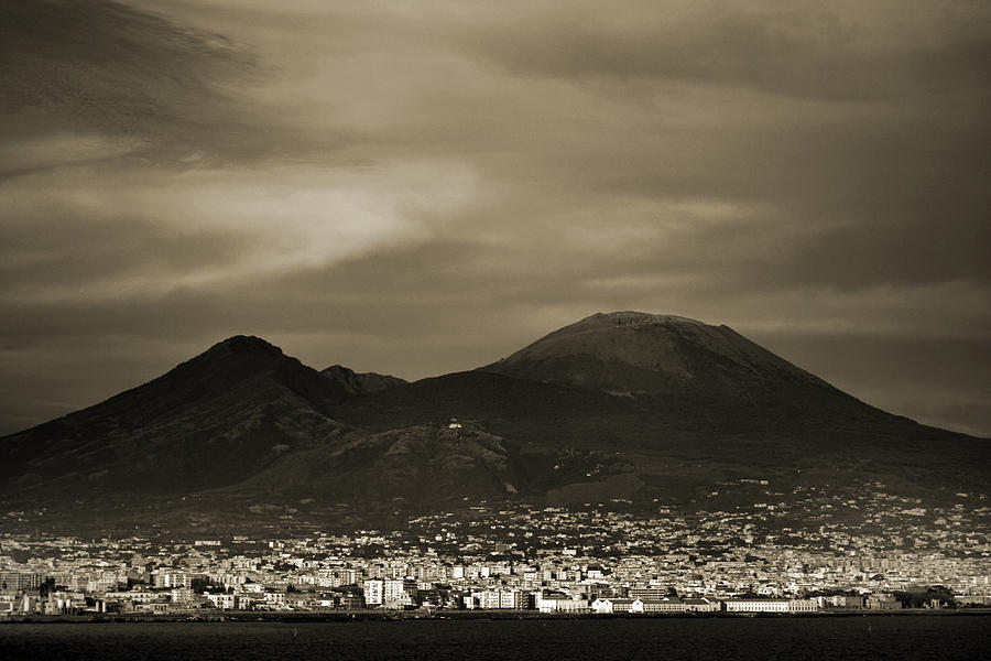 Mount Vesuvius 2012 Ad Photograph