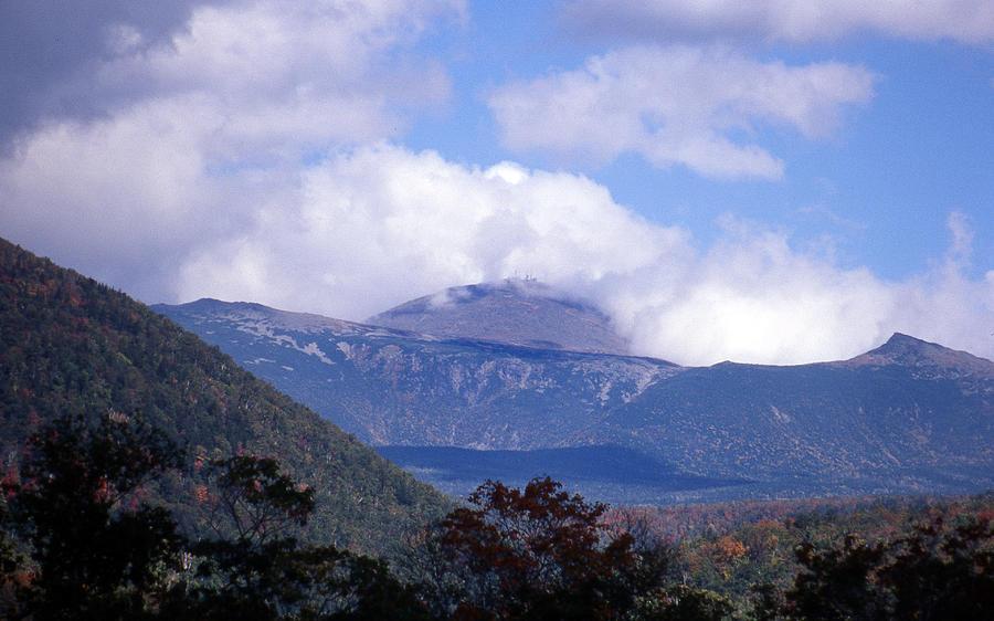 Mountain Photograph - Mount Washington by Skip Willits
