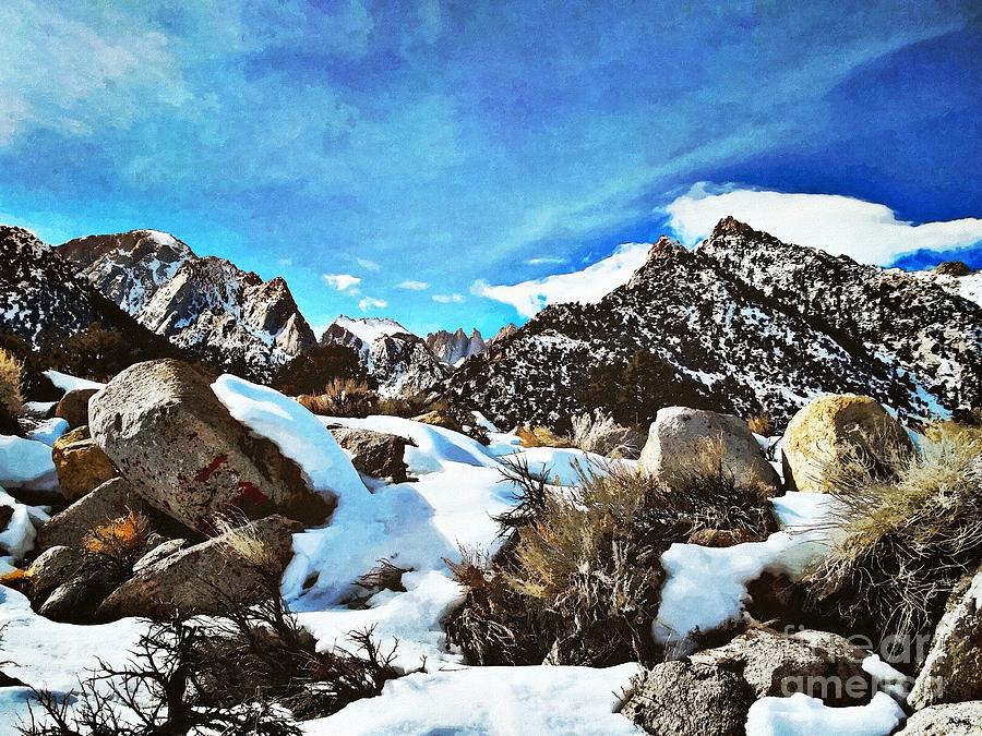 Mount Whitney Vista Photograph  - Mount Whitney Vista Fine Art Print