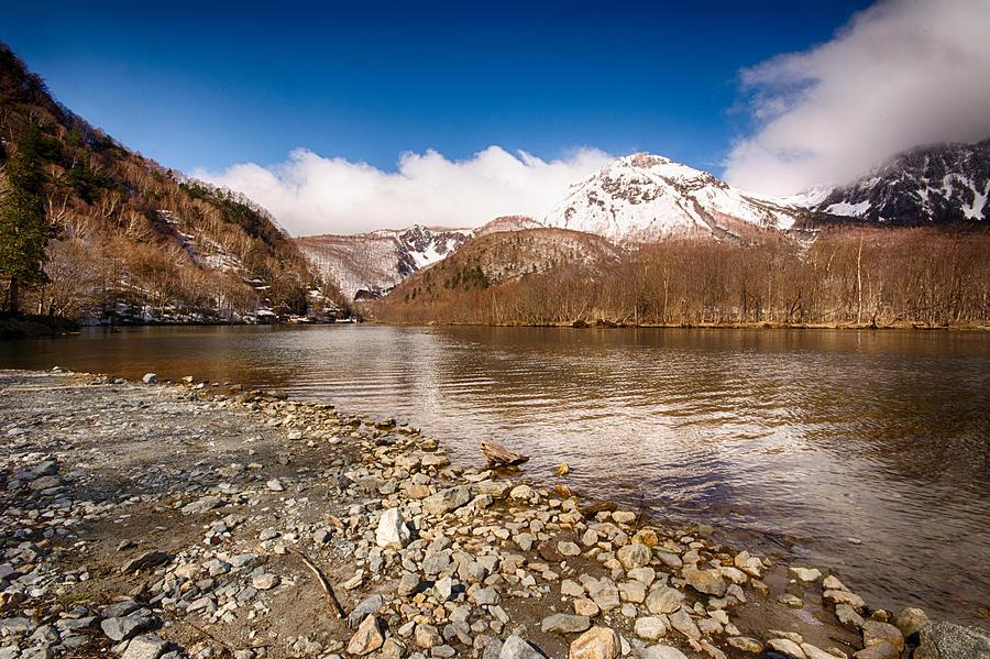 Alps Photograph - Mount Yakedake by Jonah  Anderson