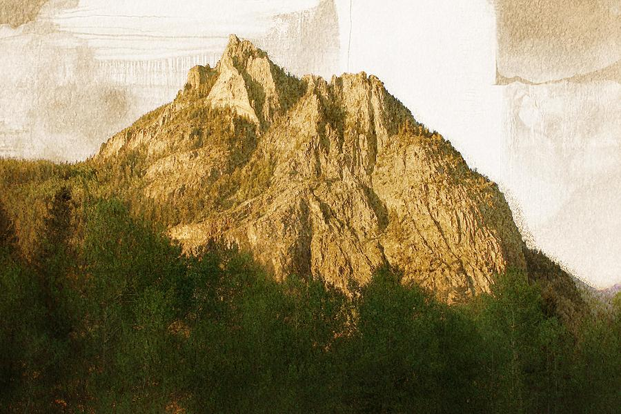 Mountain Artwork Digital Art