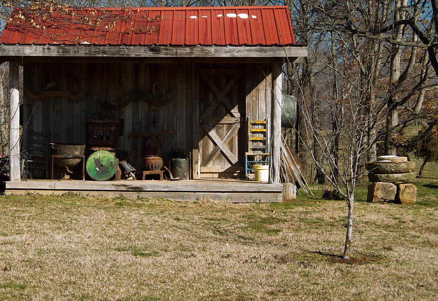 Mountain Photograph - Mountain Cabin In Tennessee 3 by Douglas Barnett