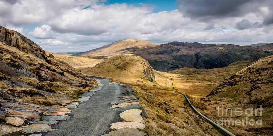 Mountain Path Photograph