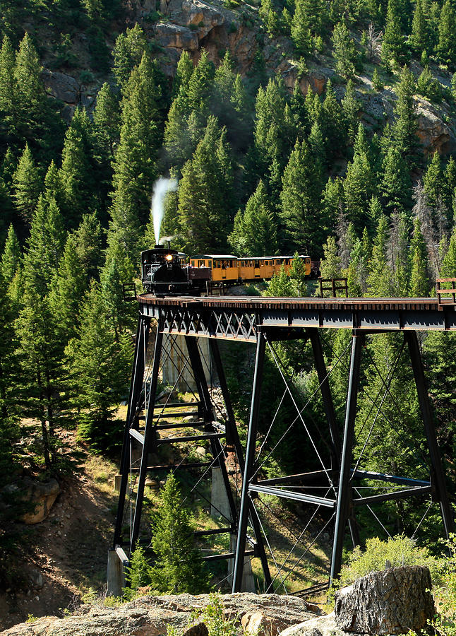 Mountain Railroad Photograph  - Mountain Railroad Fine Art Print