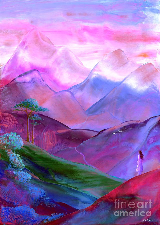 Mountain Reverence Painting