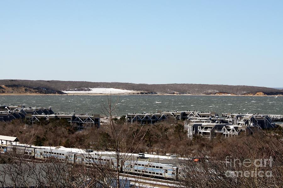 Mountain Side View Of Gardiners Bay Photograph