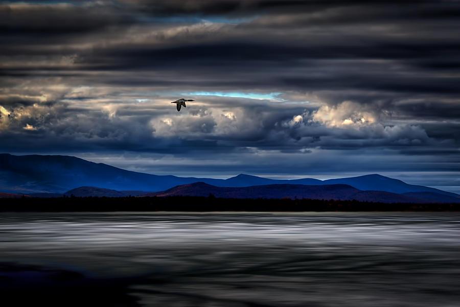 Mountain View - Mt. Katahdin Photograph