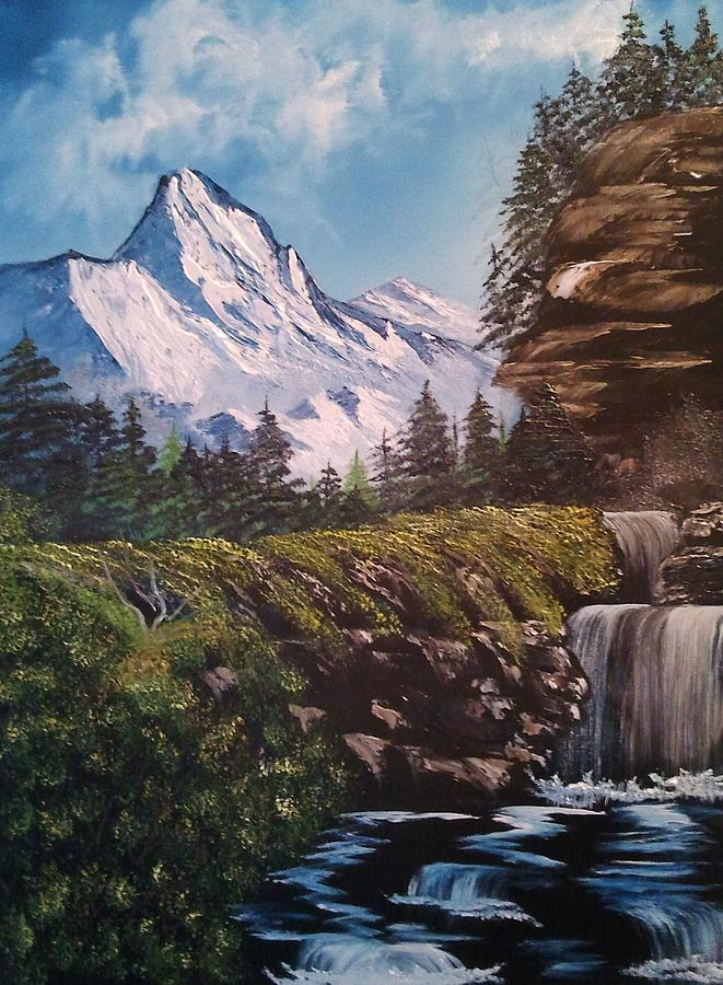 Mountain Views Painting