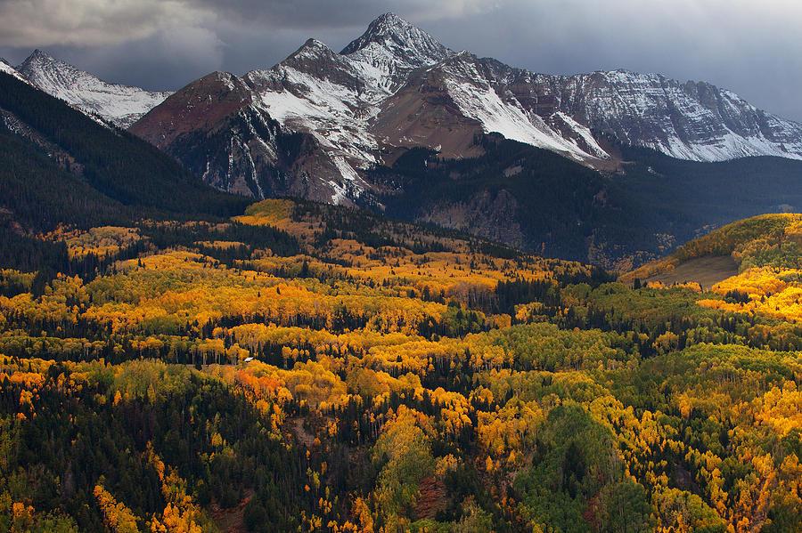 Mountainous Storm Photograph