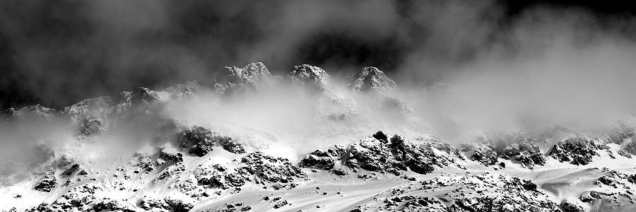 Swiss Photograph - Mountains Of Morteratsch by Marc Huebner