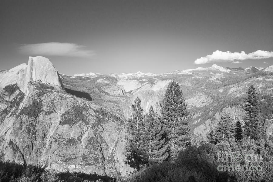Moutain Scenery Yosemite Np No14 Photograph