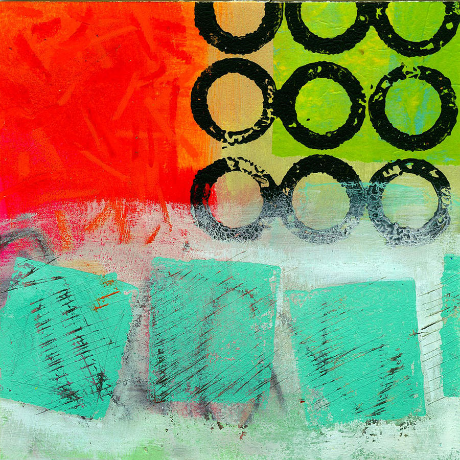 Moving Through 11 Painting  - Moving Through 11 Fine Art Print