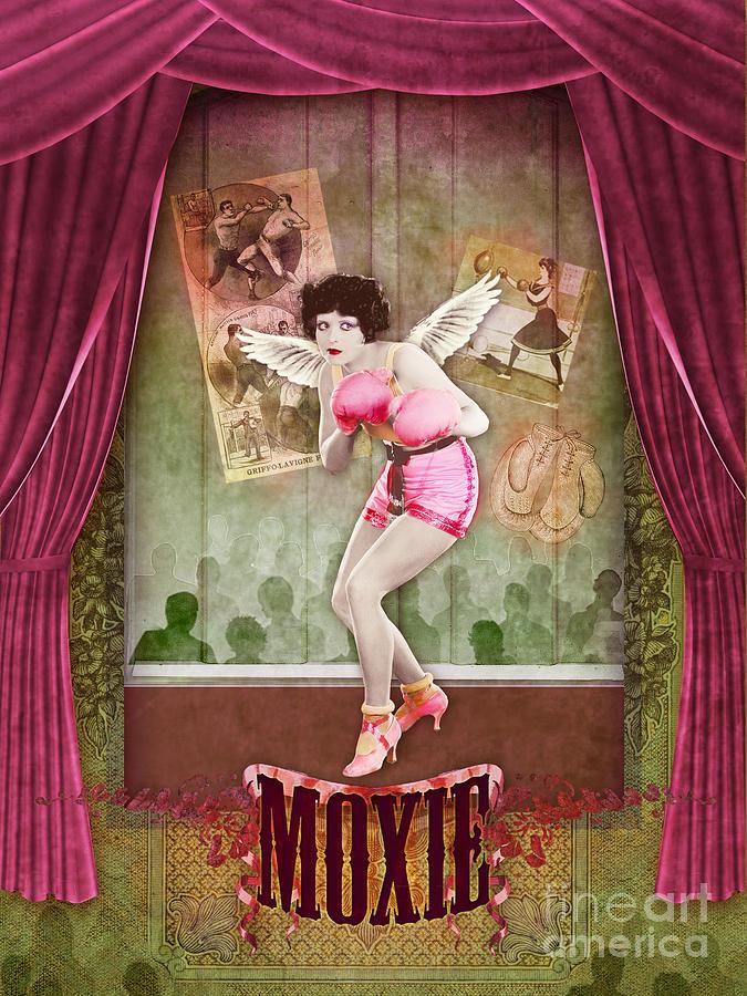 Aimee Stewart Digital Art - Moxie by Aimee Stewart