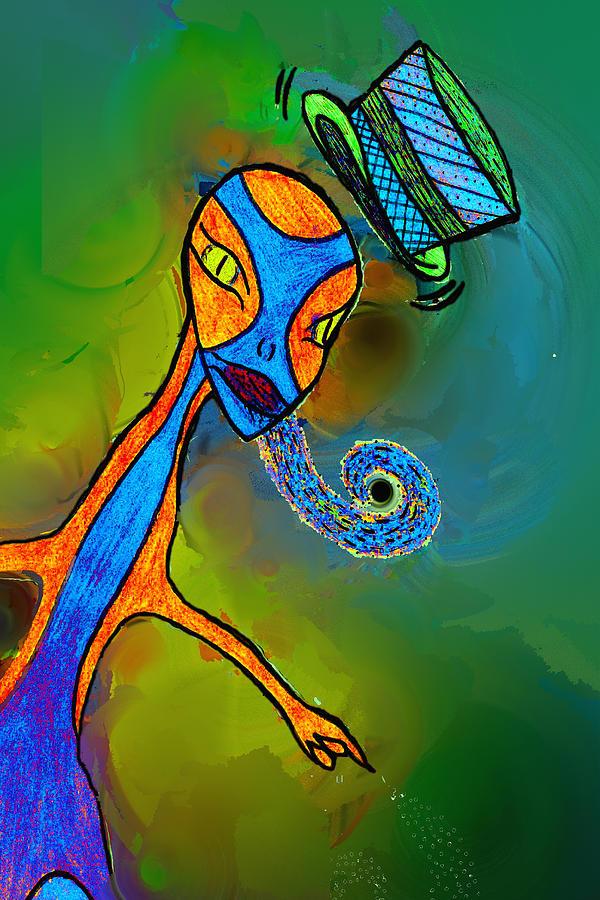 Mr Flutzit Digital Art
