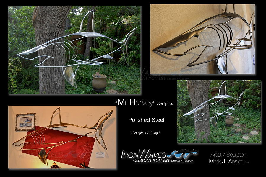 Brochure Sculpture - Mr Harvey by Mark Ansier