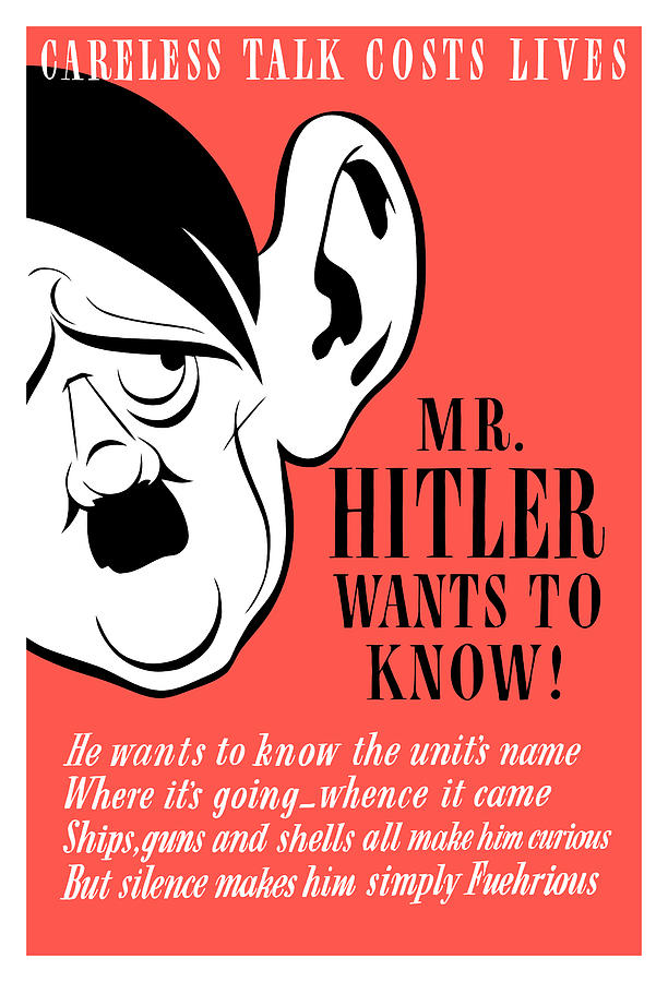 Mr Hitler Wants To Know Painting