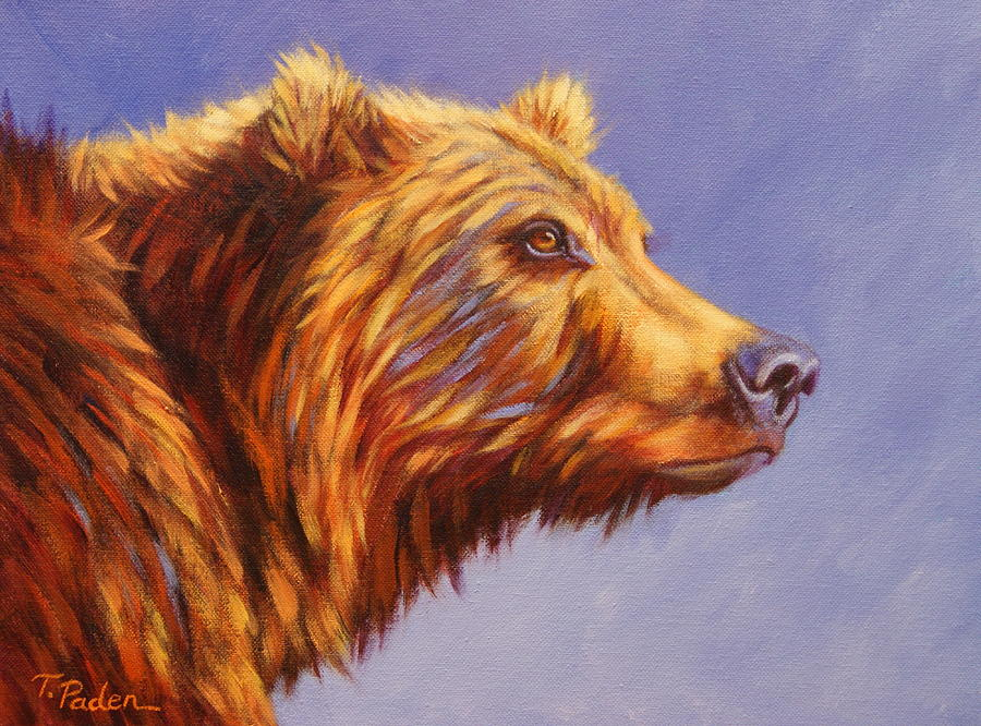 Ms. Grizz Painting  - Ms. Grizz Fine Art Print