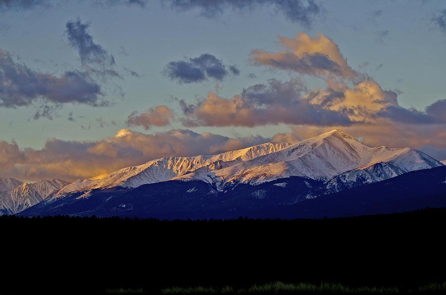 Mt Elbert Sunrise Photograph