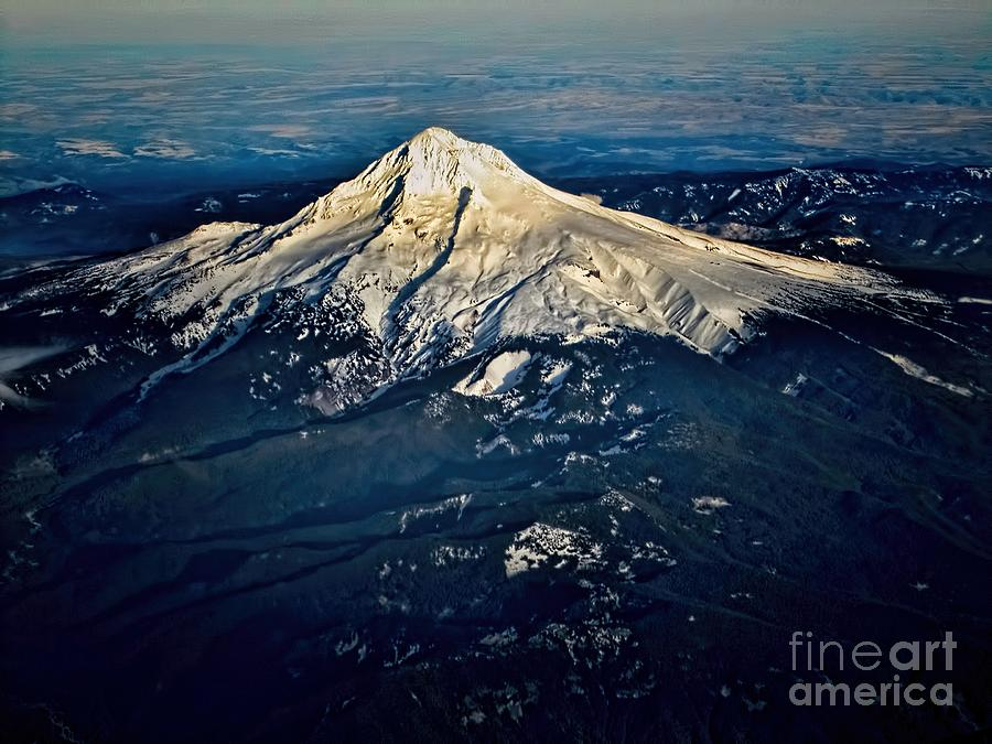 Mount Hood Photograph - Mt Hood by Jon Burch Photography